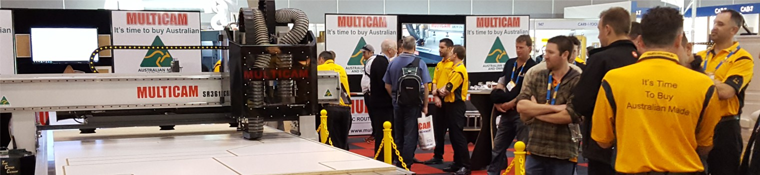 Multicam at Trade Show