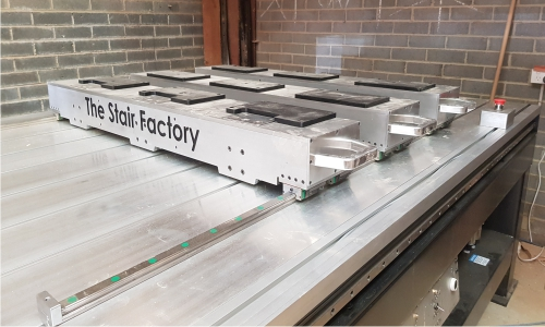The Stair Factory Clamping