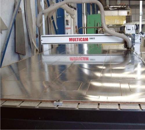 Machines for Metal Cutting - Multicam CNC Routing Machinery